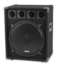 "B-WARE 15"" (38CM) DJ PA LAUTSPRECHER BASS SUBWOOFER 2-WEGE PARTY SYSTEM 800W"