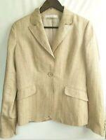 Cinq a Sept Womens Yumi Knit Embellished One-Button Blazer Jacket BHFO 1569