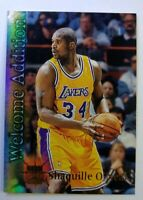 1996-97 Topps Stadium Club Welcome Addition Shaquille O'Neal #WA19, Insert