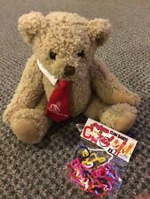JULES ASI  STUFFED PLUSH CLEVELAND INDIANS MLB 1999 TEDDY BEAR & Silly Bands