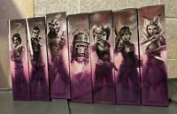 "Star Wars The Black Series 6"" 2020 Rebels Complete Lot Set (7) *Purple Boxes*"