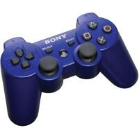 Blue SONY OEM Dualshock Wireless Playstation PS3 Controller