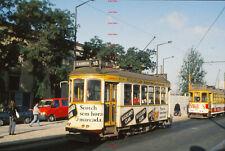 RYD215% PORTUGAL Lisbon tram 730 in 1993 Original 35mm slide