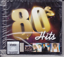"""80's Hits"" Stereo Hybrid DSD SACD CD Whitney Houston Toto Eurythmics Wham Toto"