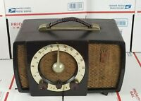 Vintage Zenith Armstrong FM Bakelite Tube Radio Model No. S-17366 Parts/Repair