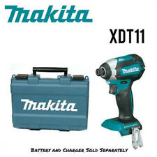 Makita XDT11Z TOC 18V Compact Cordless Impact Driver, Tool Only/Case