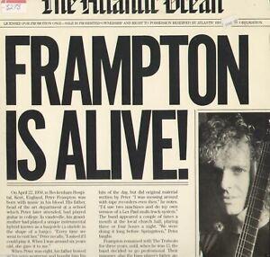 Peter Frampton Frampton Is Alive Promo Interview Vinyl LP Record Album EX Vinyl