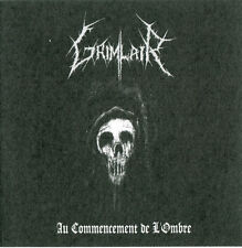 GRIMLAIR-Au Commencement de l'ombre CD ltd.500, French