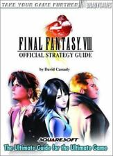 Final Fantasy VIII Official Strategy Guide Video Game Books