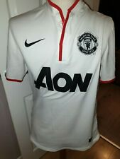 MANCHESTER UNITED NIKE 2012-2013 AWAY SHIRT 'CLEVERLEY 23' UK SMALL RRP £64.99