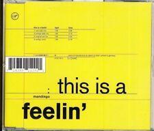 MANDINGO - this is a feelin'  4 trk MAXI CD  1993