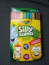 C 00004000 rayola Silly Scents Washable Markers , 2 packs of 10 Markers Stocking Stuffer