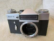 Zenit-E 35mm SLR Film Camera (body only) SHUTTER FIRES MIRROR WORKS