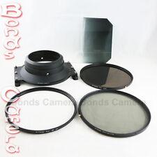 Camdiox 145mm Pro Filter Holder Adapter Kit for Canon EF 14mm f/2.8L II USM Lens