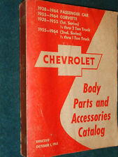 1938-1964 CHEVROLET CAR / TRUCK BODY PARTS CATALOG BOOK