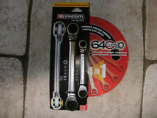 FACOM 64C.J2 CUATRO 4 IN 1 RATCHETING SPANNERS  NEW