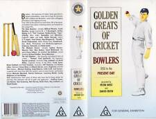 CRICKET~BOWLING  VHS VIDEO PAL A RARE FIND