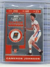 2019-20 Contenders Optic Cameron Johnson Rookie Ticket RC Suns R25