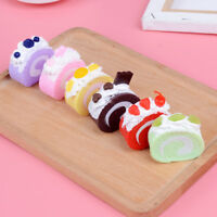 1Pc Artificial fake food fruit cake bread model DIY craft home decorat ES