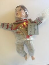 New! danbury mint porcelain boy doll by elke hutchens with horse toy