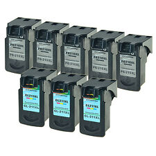 5 PK PG-210XL & 3 PK CL-211XL Ink For Canon PIXMA iP2702 MP250 MP280 MP499 MP495