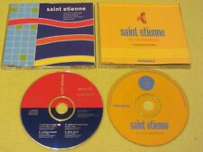 Saint Etienne You're In A Bad Way & He's On The Phone 2 CD Singles Indie Dance P