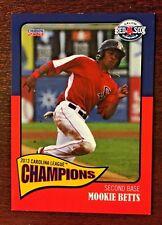2013 Choice Salem Red Sox Carolina League Championship Mookie Betts Card