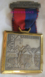 DEC5879 - Medaille Kaiserstuhl 1979 2° Corps D' US Army f. F.A