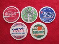 Taniguchi Store Hawaii Coca-Cola Bugs Bunny Chips Ahoy! Gatorade milk caps pogs