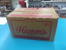 Vintage Hamms Empty Cardboard Beer Bottle Case Box Pabst 24-12oz Bottles