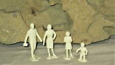 Marx  DollHouse Family Figures Father Mother Sister Baby Set of 4