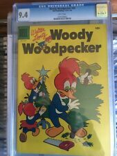 Woody Woodpecker #34 CGC 9.4 White Pages