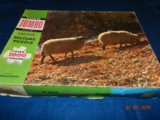 Vintage Tuco Jigsaw Puzzle Triple thick Rambouillet Beauties Sheep over 1000 pcs