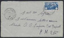 STORIA POSTALE Colonie LIBIA 1942 Lettera PA da Castel Benito a PM 212 (Z3)