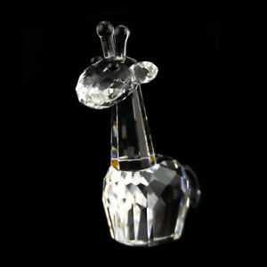 Giraffe Clear Edition Austrian crystal figurine ornament home decor RRP$249