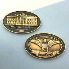 challenge coin  WHITE HOUSE  DONALD TRUMP 45TH PRESIDENT oval