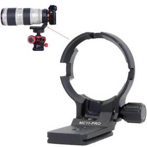 Stativschelle Objektiv Montage für Canon EF-E Sigma MC-11 Mount Konverter