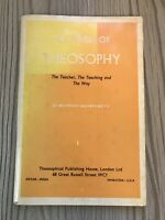 1966 First Edition , The Field Of Theosophy