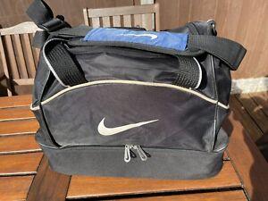 Nike Sports Gym Bag Size Medium Duffle Bag Football Work School Training Good Co