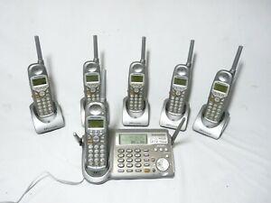 Panasonic  KX-TG5100M + 5  KX-TGA510M complete set  working