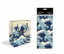 Great Wave Medium Gift Bag with Gift Tag and Tissue Paper