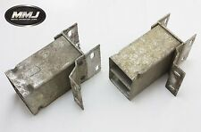 LAND ROVER DISCOVERY 2 PAIR OF FRONT BUMPER CRUSH BOX / CANS - TD5 & V8 99/04