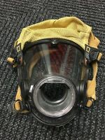 Scott AV-2000 Firefighter Facepiece SCBA CBRN NBC Size LARGE - Good