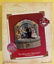I'm Melting Melting! The Wizard of Oz Hallmark Keepsake Ornament (NEW)