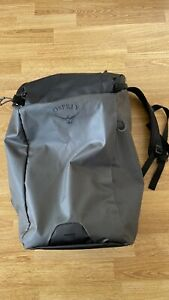 Osprey Transporter Zip Backpack 30L RRP£100 Black USED Good condition