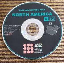 TOYOTA LEXUS NAVIGATION DISC DVD ROM U32D VERSION VERSION 7.1 86271-53022