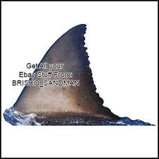 Fridge Fun Refrigerator Magnet JAWS MOVIE Great White Shark Fin - Fish Die-Cut