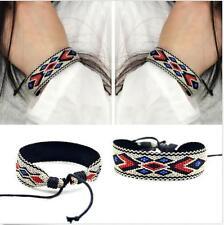 New Woven Style Unisex Bracelet Bangles Wristband Handmade Friendship Surfer