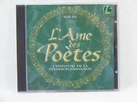 L'Ame des Poètes Vol3 L'essentiel Compilation CD Chanson Française valse musette