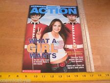 What a Girl Wants Amanda Bynes Scholastic Action Schools only Magazine 2003